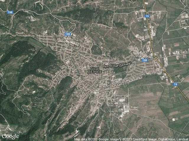 Karta 2019 Karta Na Grad Goce Delchev