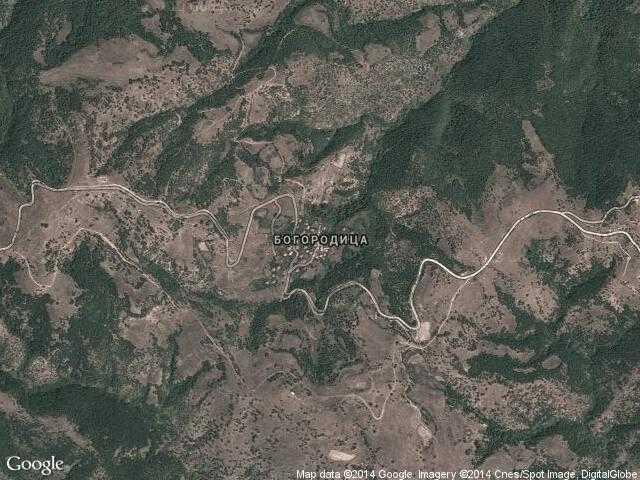 Сателитна карта на Богородица
