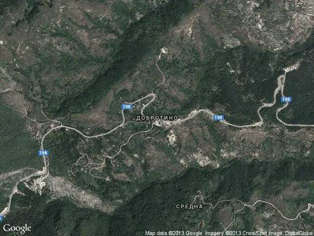 Сателитна карта на Добротино