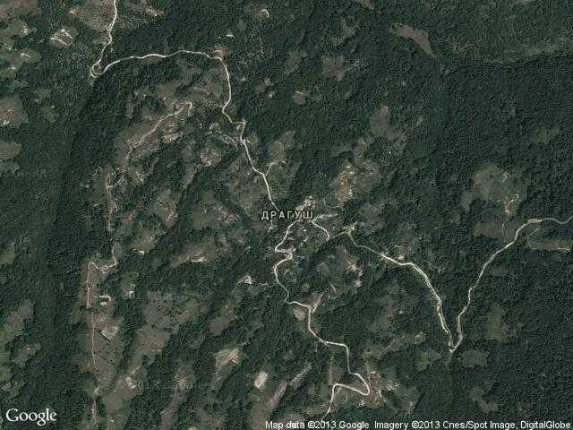 Сателитна карта на Драгуш