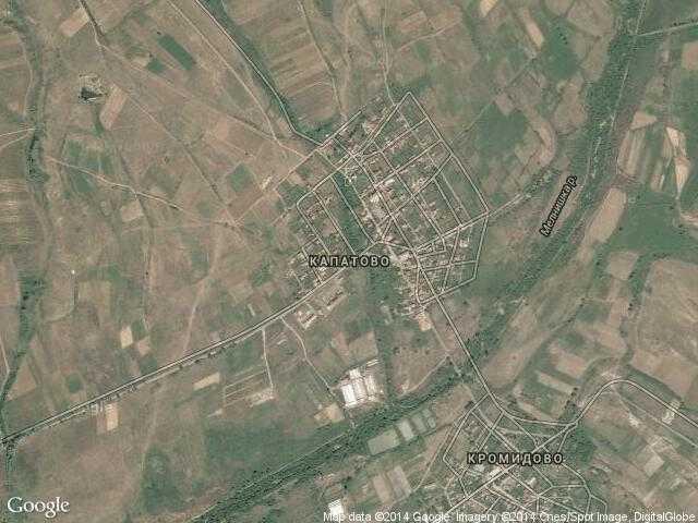 Сателитна карта на Капатово