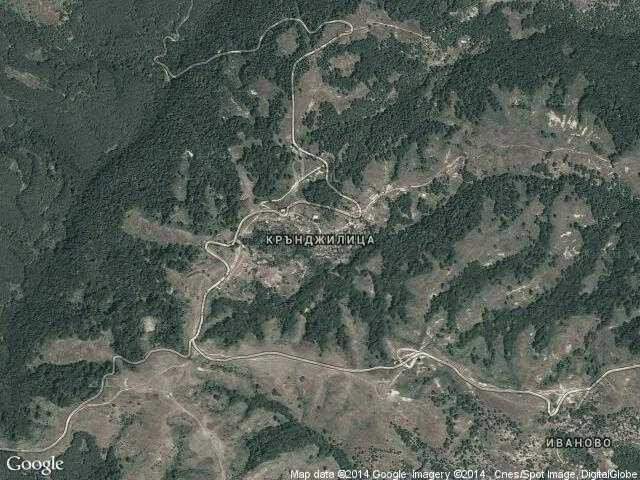 Сателитна карта на Крънджилица
