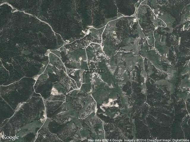 Сателитна карта на Кузьово