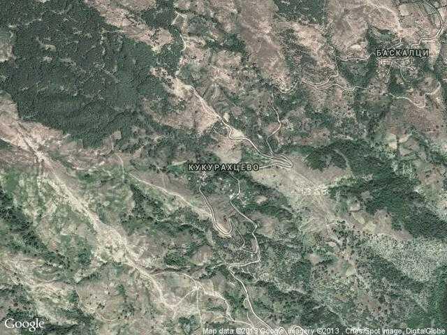 Сателитна карта на Кукурахцево