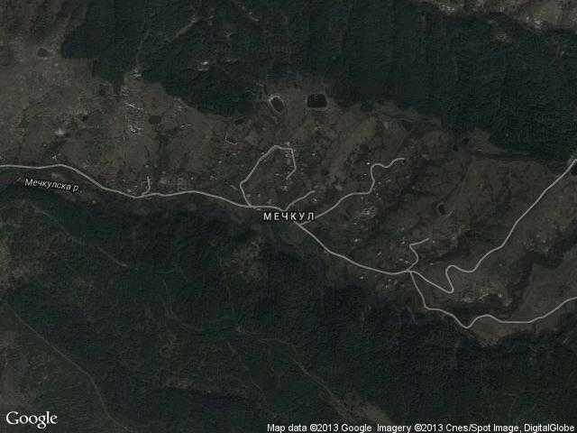 Сателитна карта на Мечкул