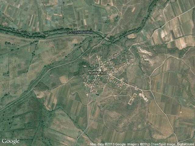 Сателитна карта на Митино