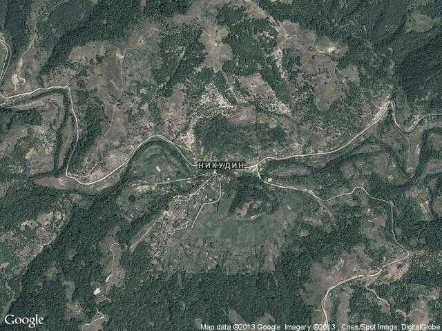 Сателитна карта на Никудин