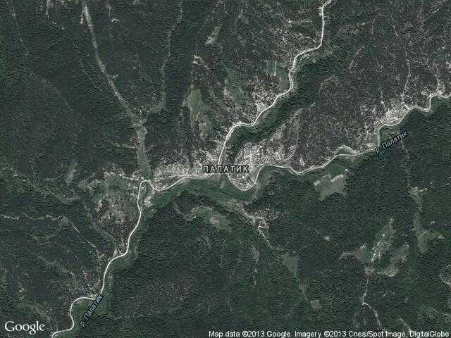 Сателитна карта на Палатик