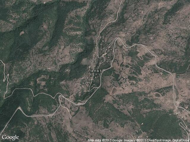 Сателитна карта на Палат