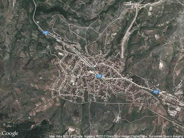 Сателитна карта на Сатовча