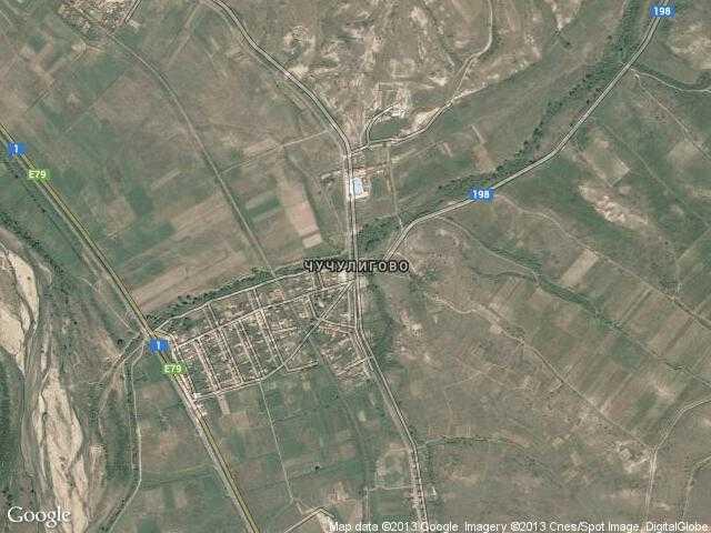 Сателитна карта на Чучулигово