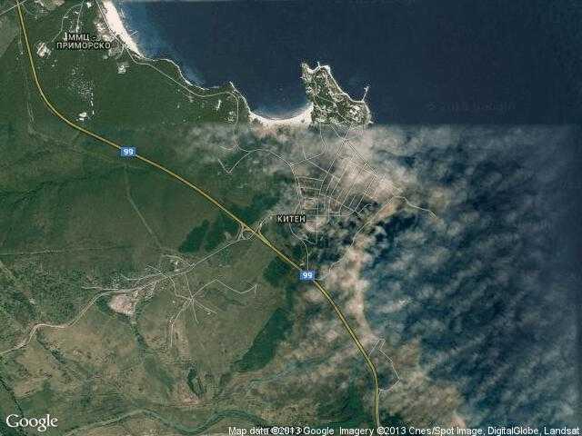 Сателитна карта на Китен