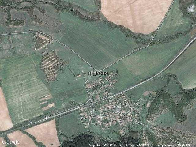 Сателитна карта на Ведрово