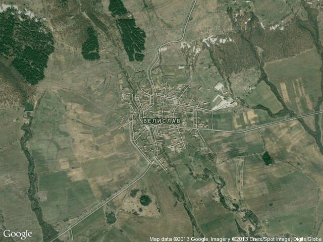 Сателитна карта на Велислав