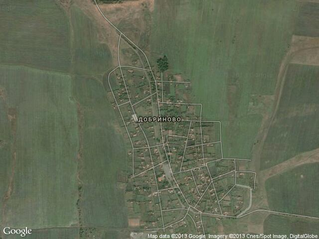 Сателитна карта на Добриново
