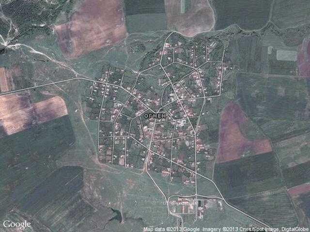 Сателитна карта на Огнен
