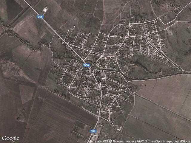 Сателитна карта на Оризаре