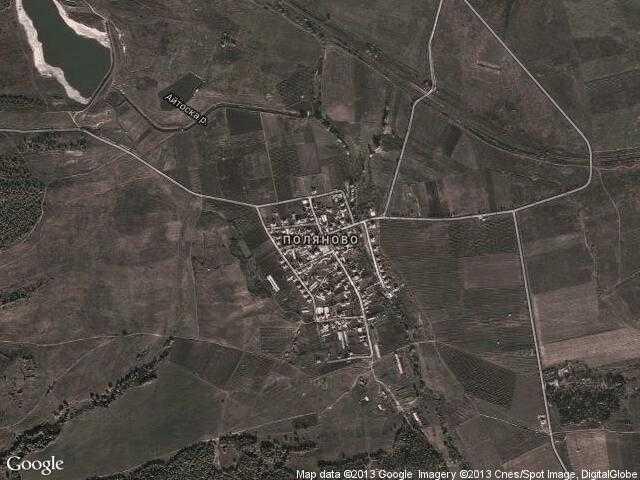 Сателитна карта на Поляново