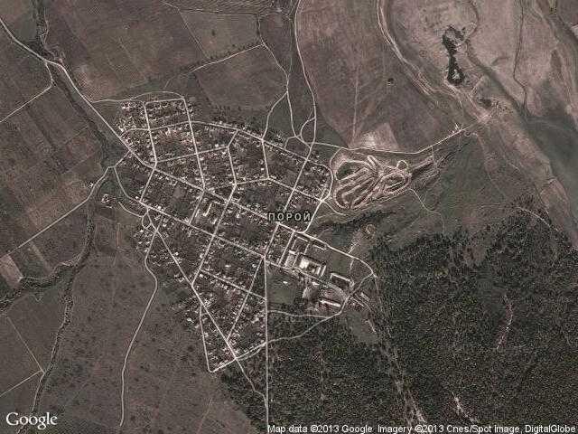 Karta 2019 Selo Poroj Karta