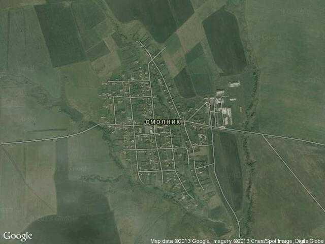 Сателитна карта на Смолник