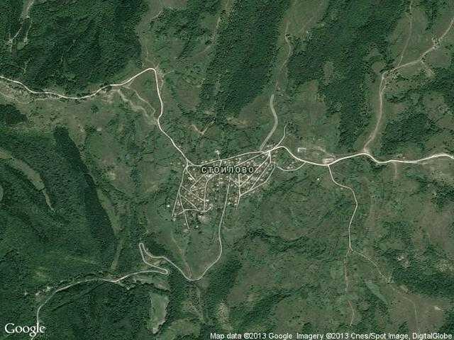 Сателитна карта на Стоилово