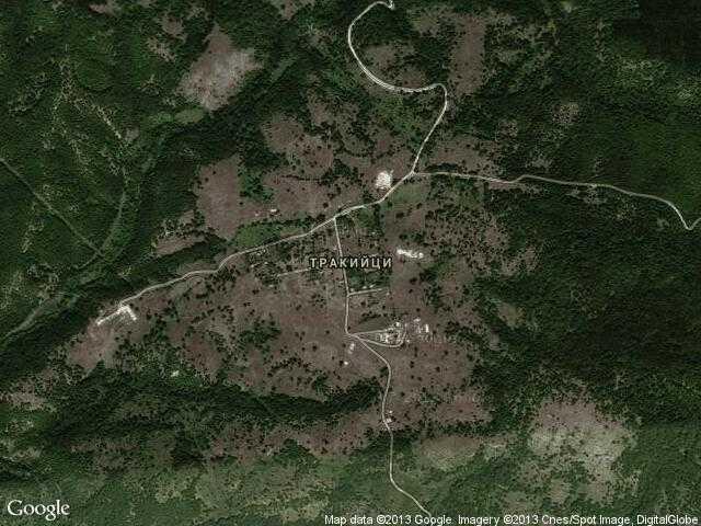 Сателитна карта на Тракийци