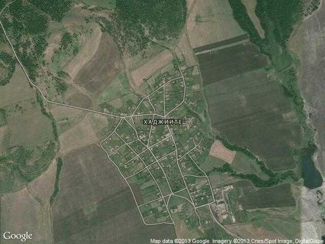 Сателитна карта на Хаджиите