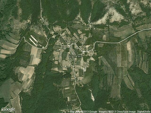 Сателитна карта на Булаир