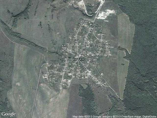 Сателитна карта на Китка