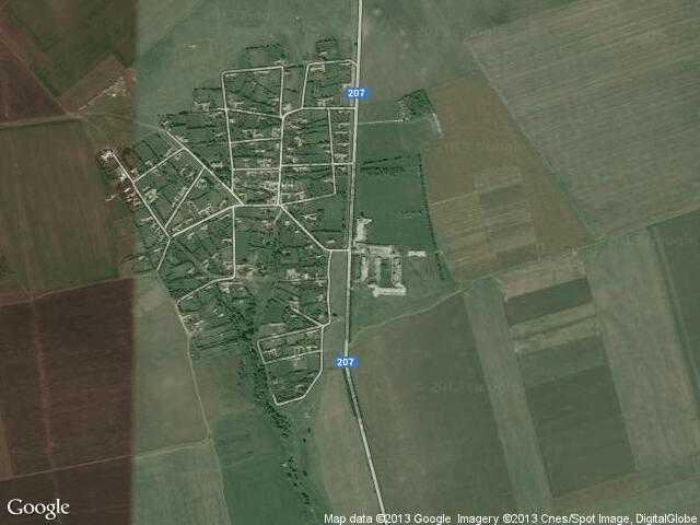Сателитна карта на Момчилово