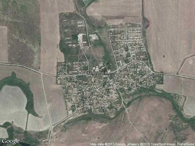Сателитна карта на Водолей