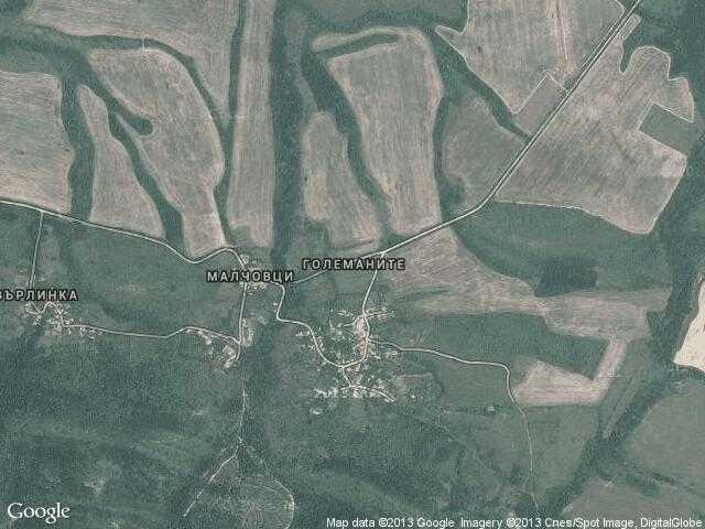 Сателитна карта на Големаните