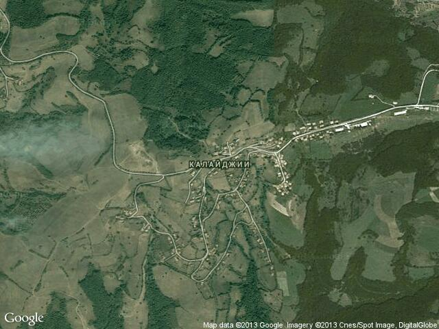 Сателитна карта на Калайджии