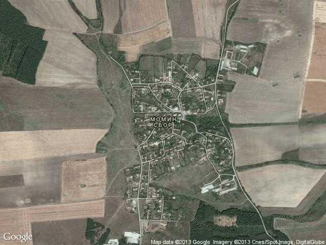 Сателитна карта на Момин сбор