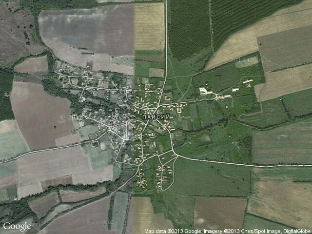 Сателитна карта на Паисий