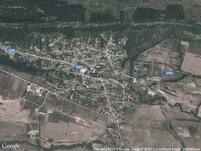 Сателитна карта на Присово