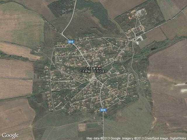 Сателитна карта на Стефан Стамболово