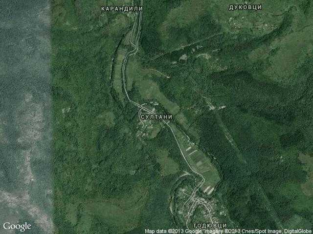 Сателитна карта на Султани