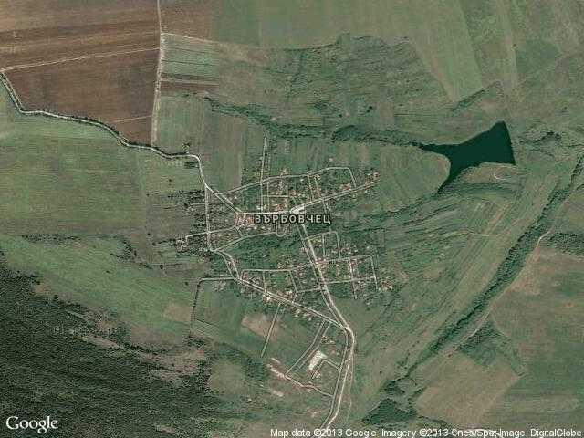 Сателитна карта на Върбовчец