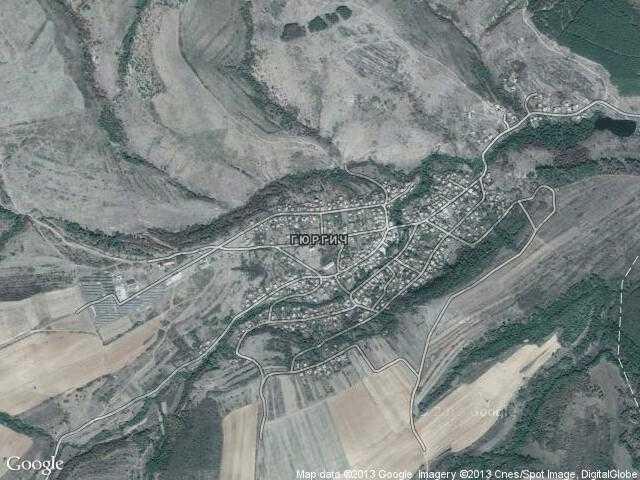 Сателитна карта на Гюргич