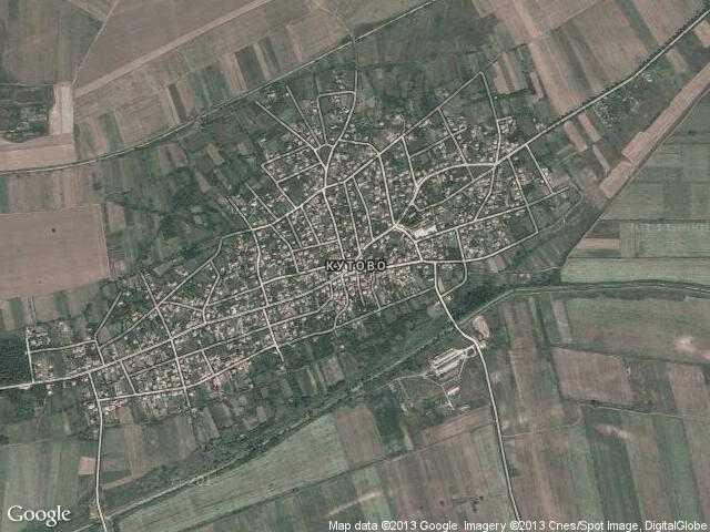Сателитна карта на Кутово
