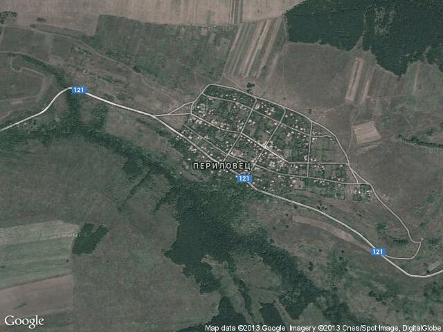 Сателитна карта на Периловец