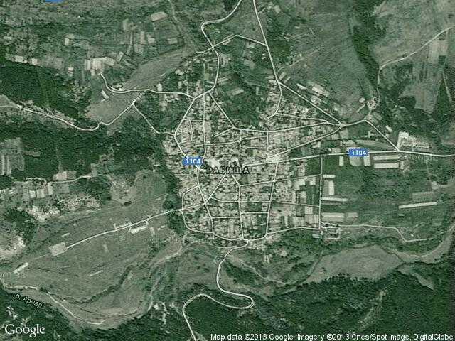 Сателитна карта на Рабиша