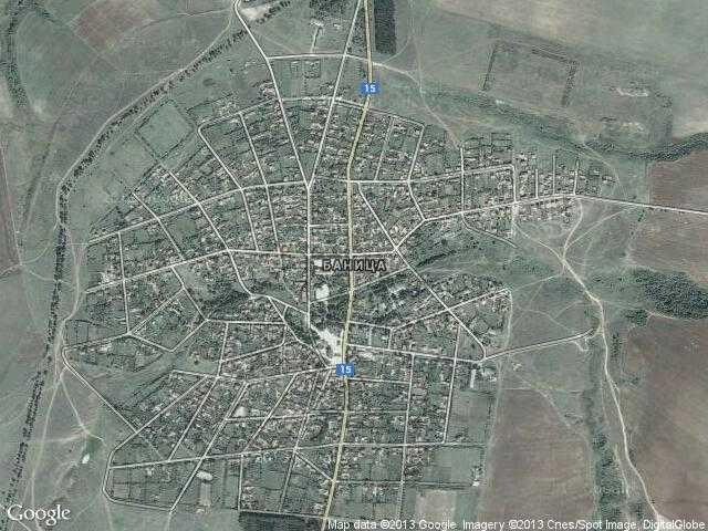 Сателитна карта на Баница