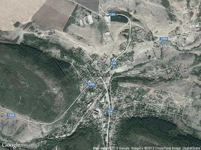 Сателитна карта на Габаре