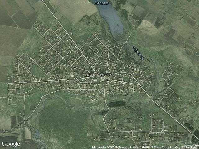 Сателитна карта на Добролево