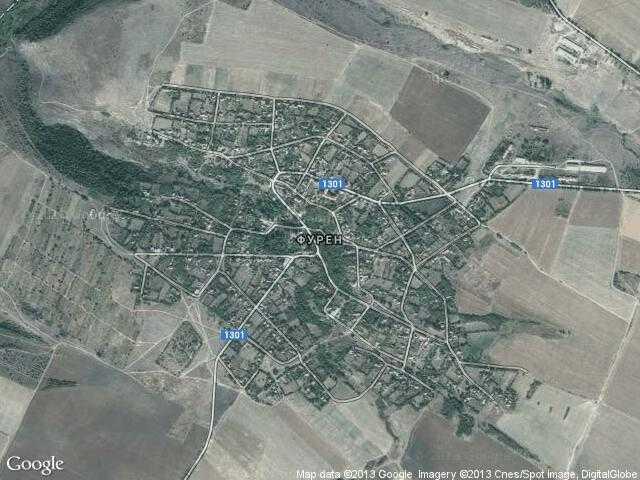 Сателитна карта на Фурен