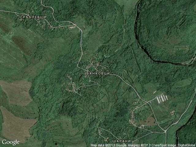 Сателитна карта на Банковци