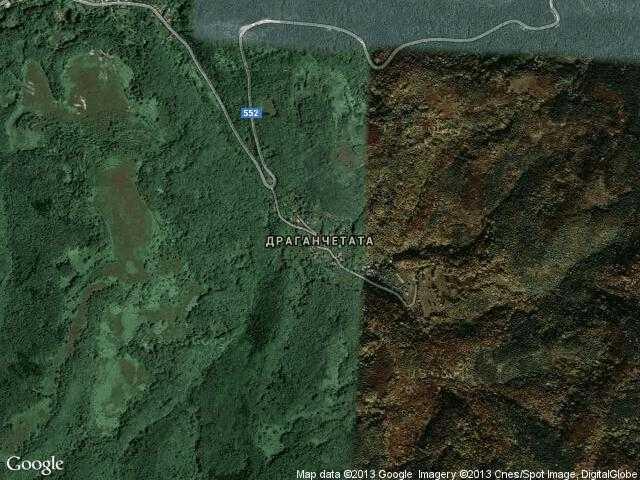 Сателитна карта на Драганчетата