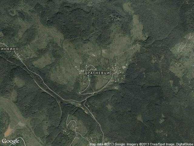 Сателитна карта на Драгневци